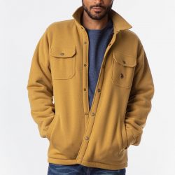 The Review Wire Holiday Gift Guide 2020: U.S. Polo Assn. Solid Shirt Jacket
