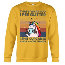 The Review Wire Holiday Gift Guide 2020: Unicorn Sh*t Cupcakes Limited Edition Sweatshirt