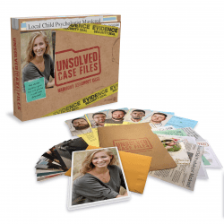 The Review Wire Holiday Gift Guide 2020: Unsolved Case Files - The Cold Case Murder Mystery Game