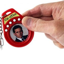 The Review Wire Holiday Gift Guide 2020: World's Coolest The Office Talking Keychain