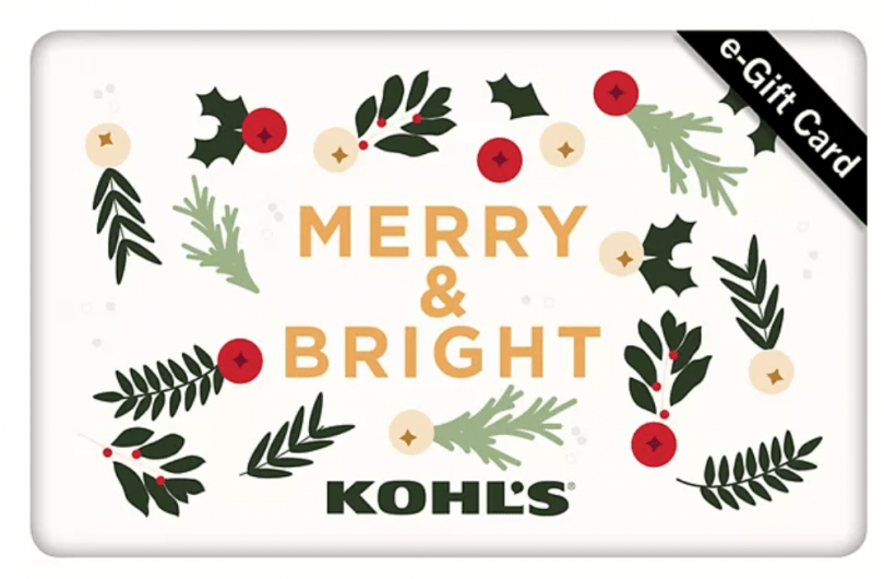 kohl's giveaway. ends 12.1.2020