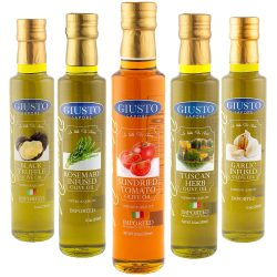 The Review Wire Holiday Gift Guide 2020: Giusto Sapore Infused Olive Oil Gift Set