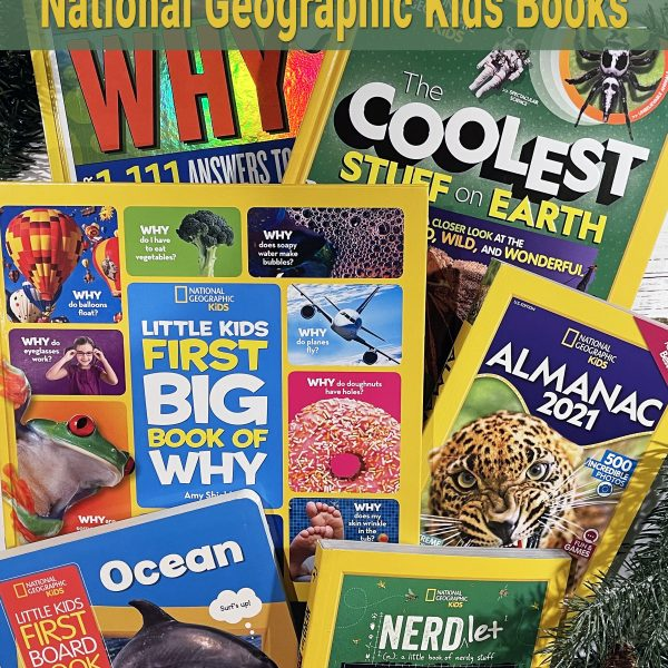 Holiday Gift Ideas from National Geographic Kids Books