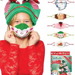 The Review Wire Holiday Gift Guide 2020: SchoolMaskPack Holiday 3D Face Mask Set