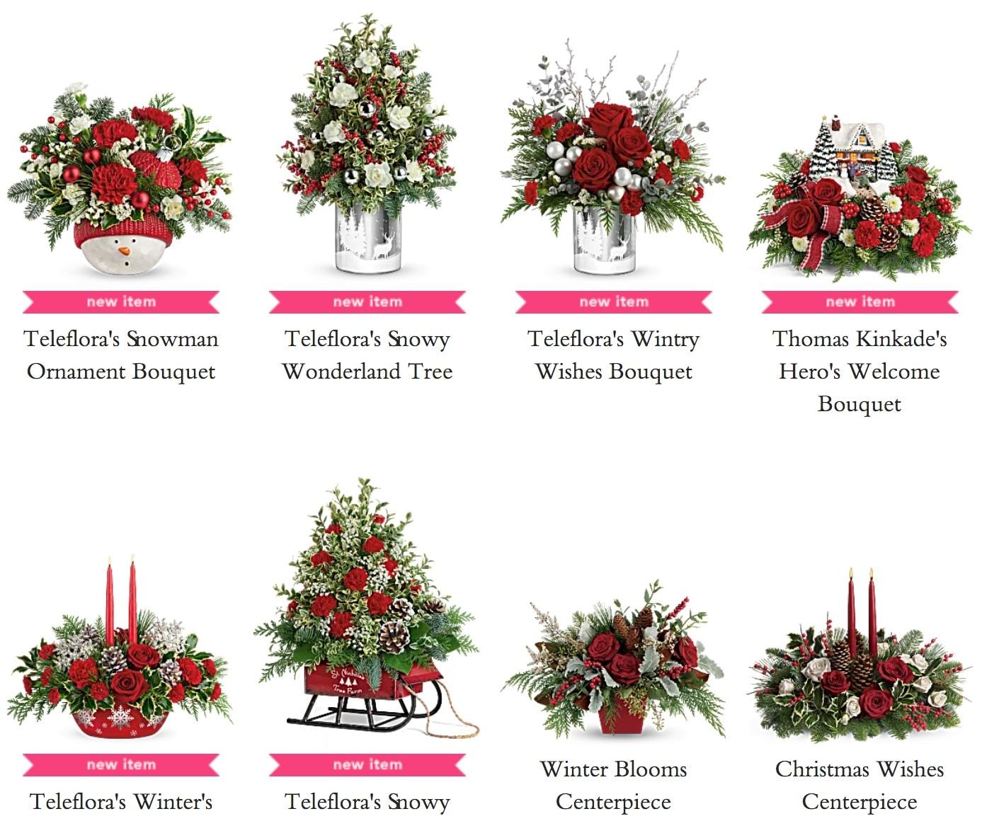 Teleflora Christmas Flowers