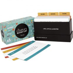 The Review Wire Holiday Gift Guide 2020: The Couple's Bucket List 100 Date Night Idea Cards