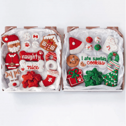 The Review Wire Holiday Gift Guide 2020: Wufers Christmas Dog Cookies