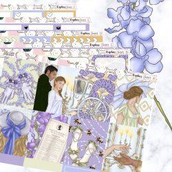 The Review Wire: 27 Bridgerton Gift Ideas Fit for a Queen: Bridgerton Planner Sticker Kit