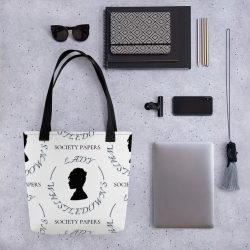The Review Wire: 27 Bridgerton Gift Ideas Fit for a Queen: Lady W's Letter Tote