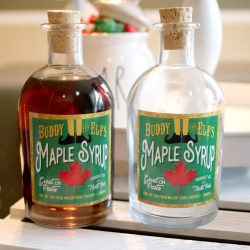 The Review Wire: Unleash Your Inner Elf with these Elf Gift Idea: Buddy the Elf's Syrup Bottle Decoration