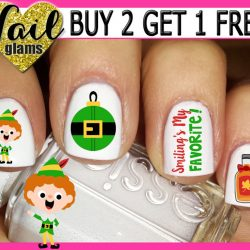 The Review Wire: Unleash Your Inner Elf with these Elf Gift Idea: Christmas Elf Nail Art