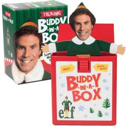 The Review Wire: Unleash Your Inner Elf with these Elf Gift Idea: Elf Talking Buddy-in-a-Box