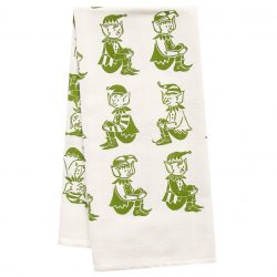 The Review Wire: Unleash Your Inner Elf with these Elf Gift Idea: Organic Elf Tea Towel.