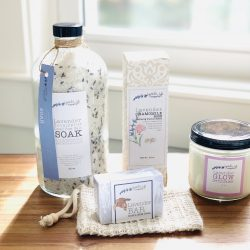 Bath and Relax Lavender Gift Set