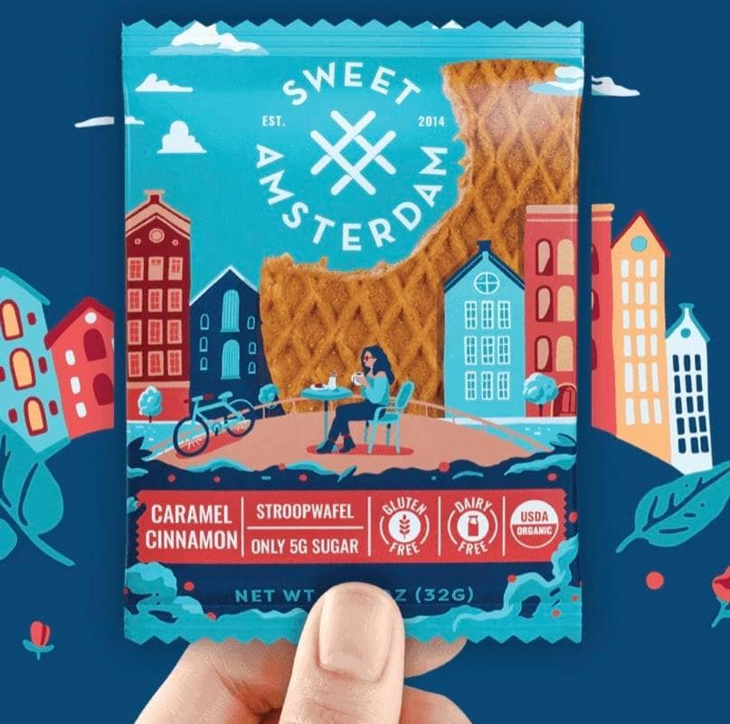 Sweet Amsterdam Stroopwafels