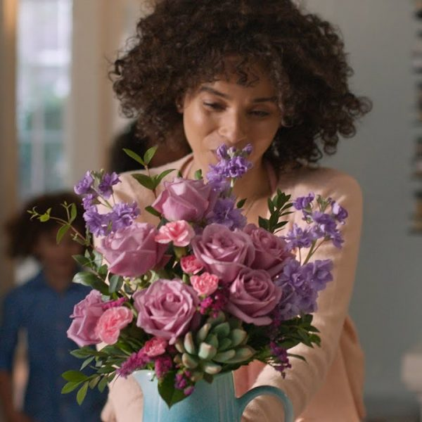 Celebrate Mom with Drawn to Mom Video with Teleflora