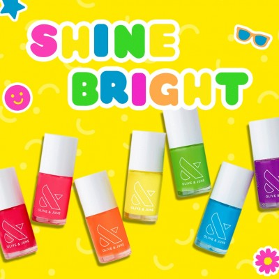 Olive & June 2021 Bold and Bright Summer Shades