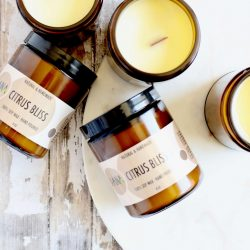 The Review Wire Summer Guide: Citrus Bliss Soy Candle