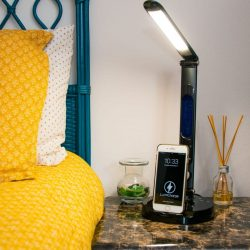 The Review Wire Back to School Guide: LumiCharge II- All In One LED Desk Lamp & Phone Dock