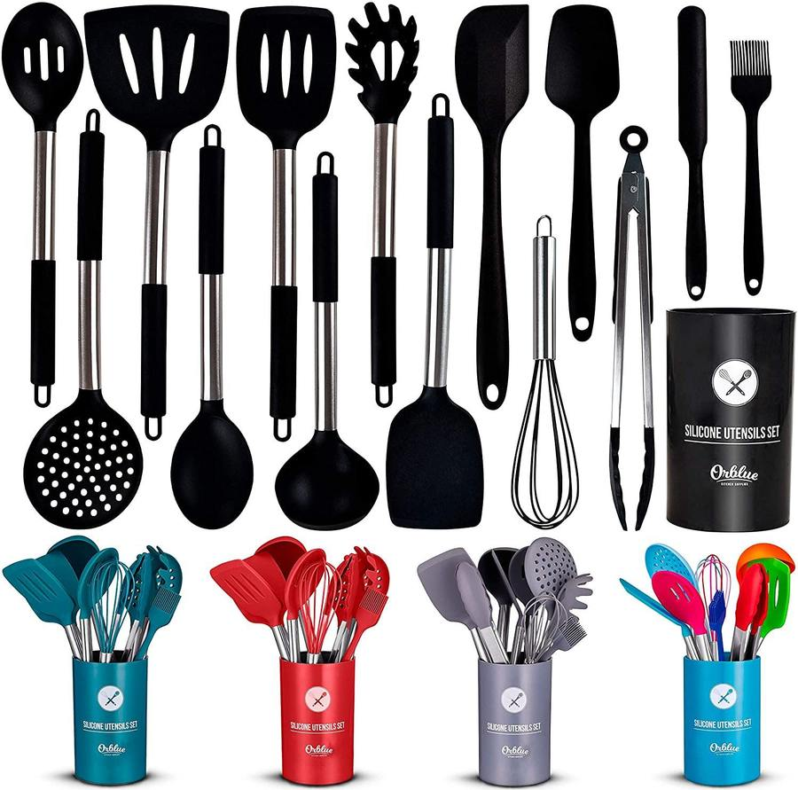 14 Piece Silicone Cooking Utensil Set