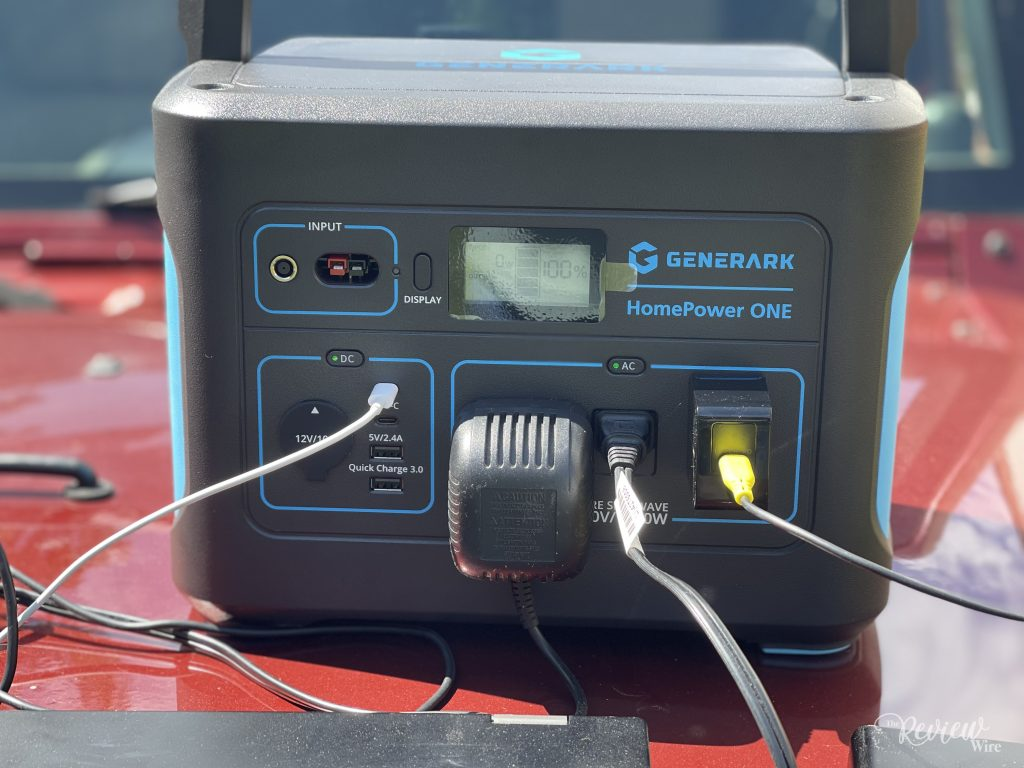 The Review Wire: HomePower ONE Backup Battery Power Station_Front