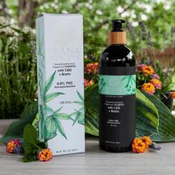 Prana Principle Nourishing Botanical Peppermint Shampoo with CBD + Biotin