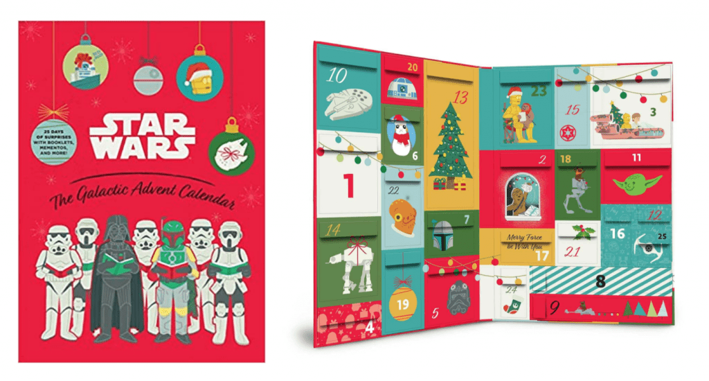 Star Wars: The Galactic Advent Calendar: 25 Days of Surprises With Booklets, Trinkets, and More!