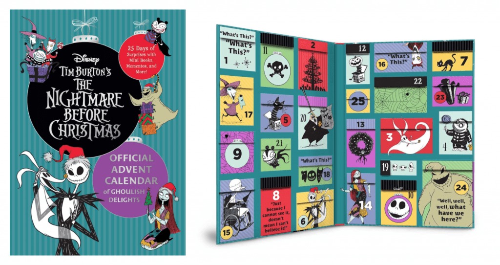 The Nightmare Before Christmas: Official Advent Calendar of Ghoulish Delights