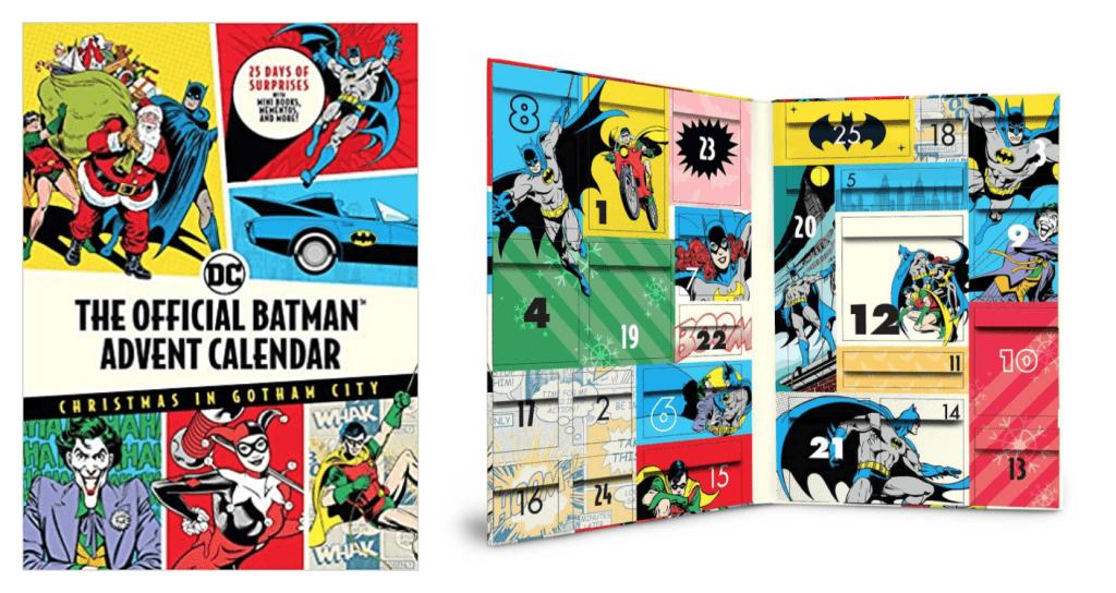 The Official Batman™ Advent Calendar: Christmas in Gotham City