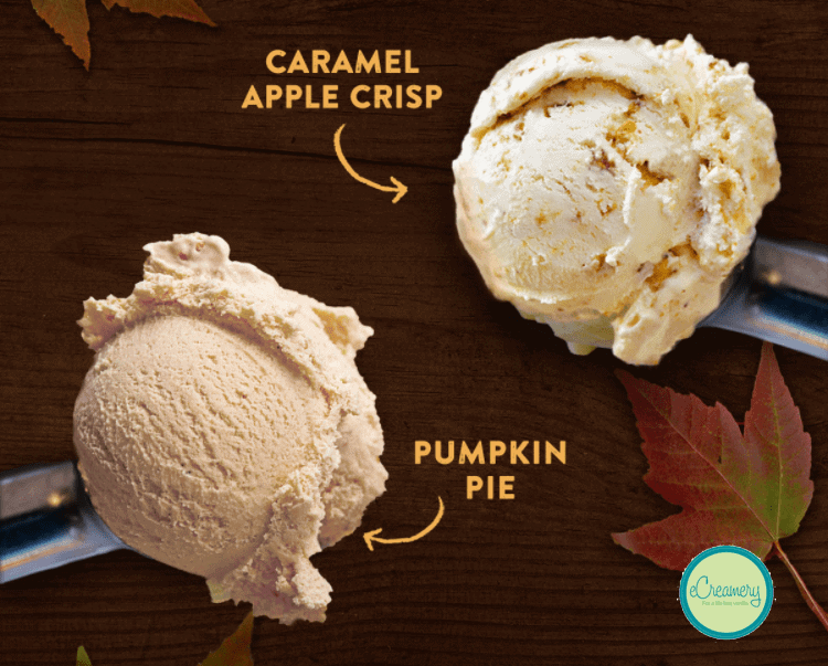 eCreamery Fall Flavors