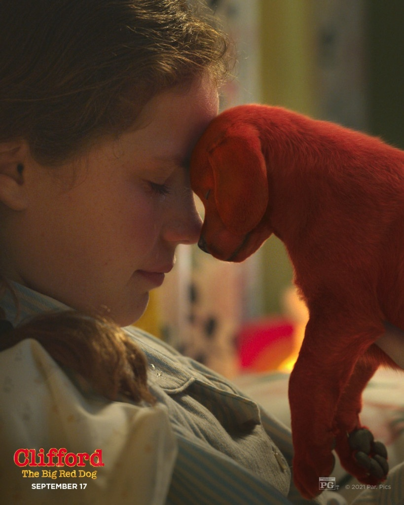 Darby Camp stars in CLIFFORD THE BIG RED DOG