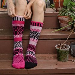 Pinktober Crew Socks