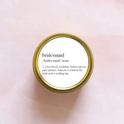 Scented Lady Candle