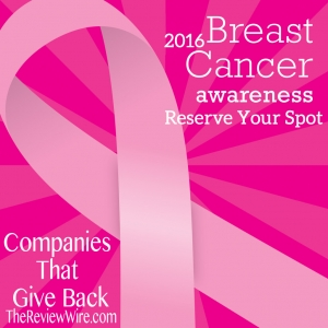Breast Cancer Awareness Reserve Your Spot